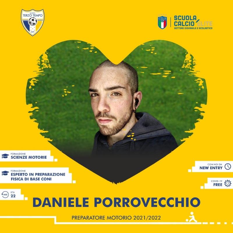 Benvenuto Daniele Porrovecchio.
